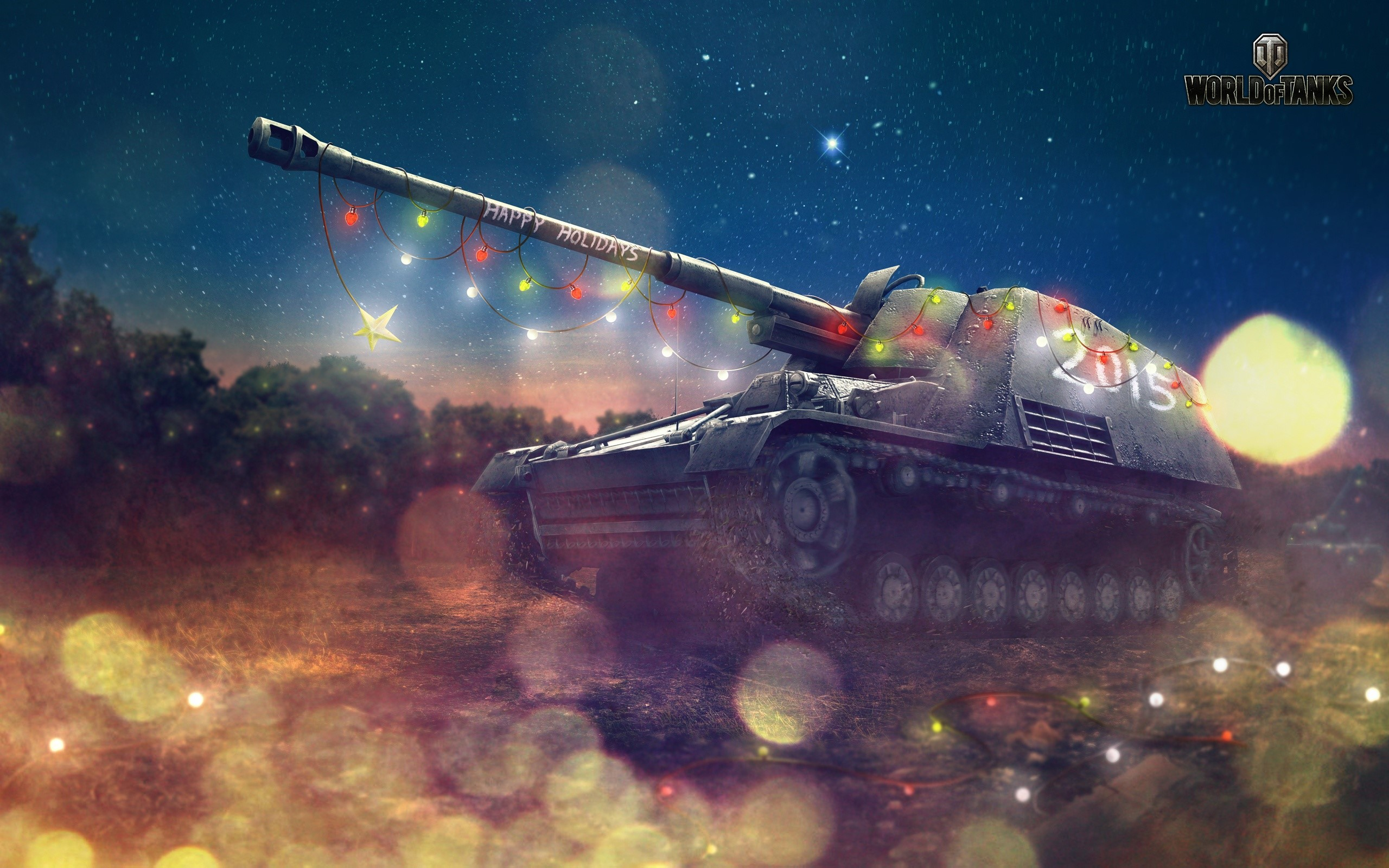 Wallpaper World of Tanks Holidays
