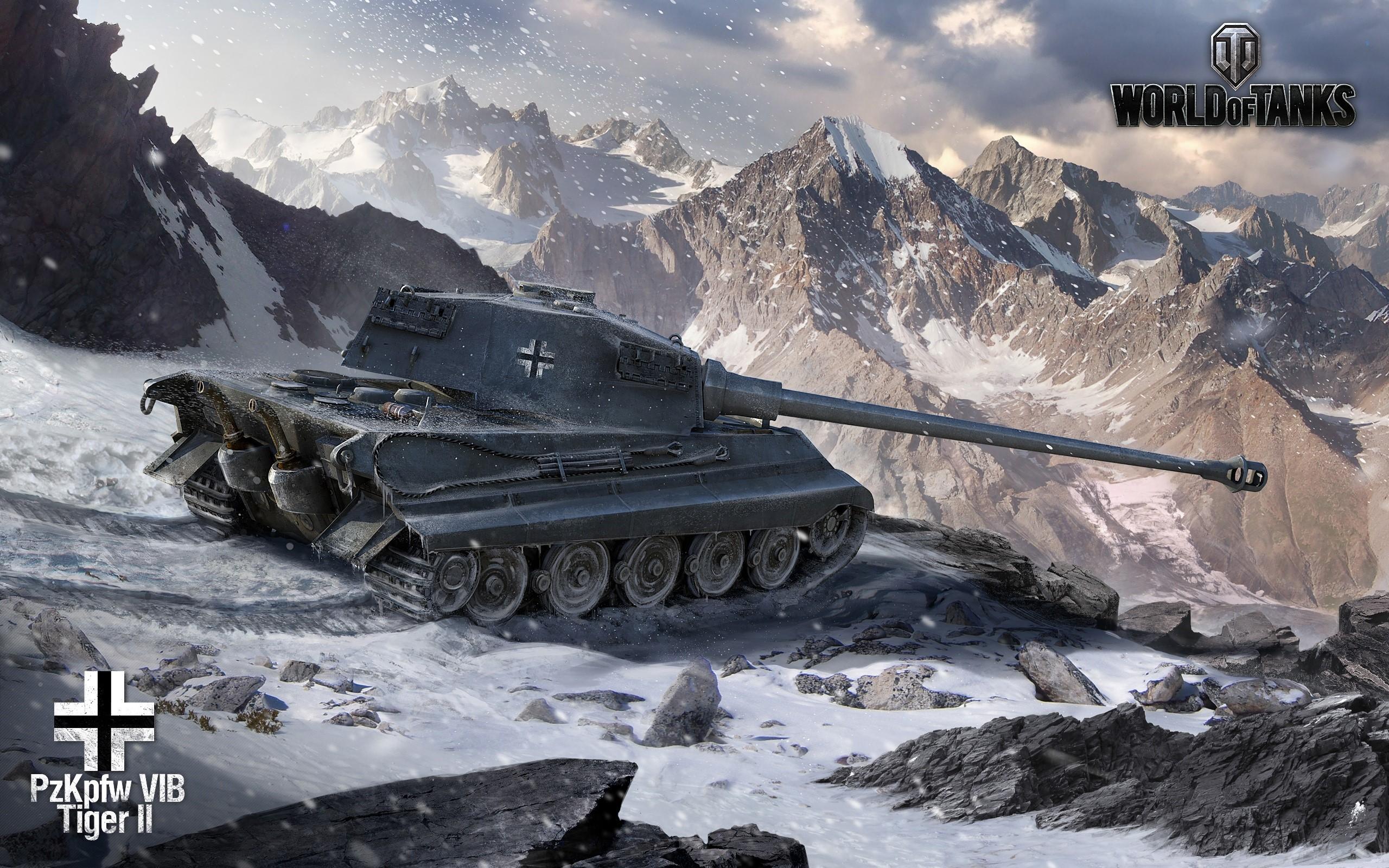 Wallpaper World of tanks king tiger