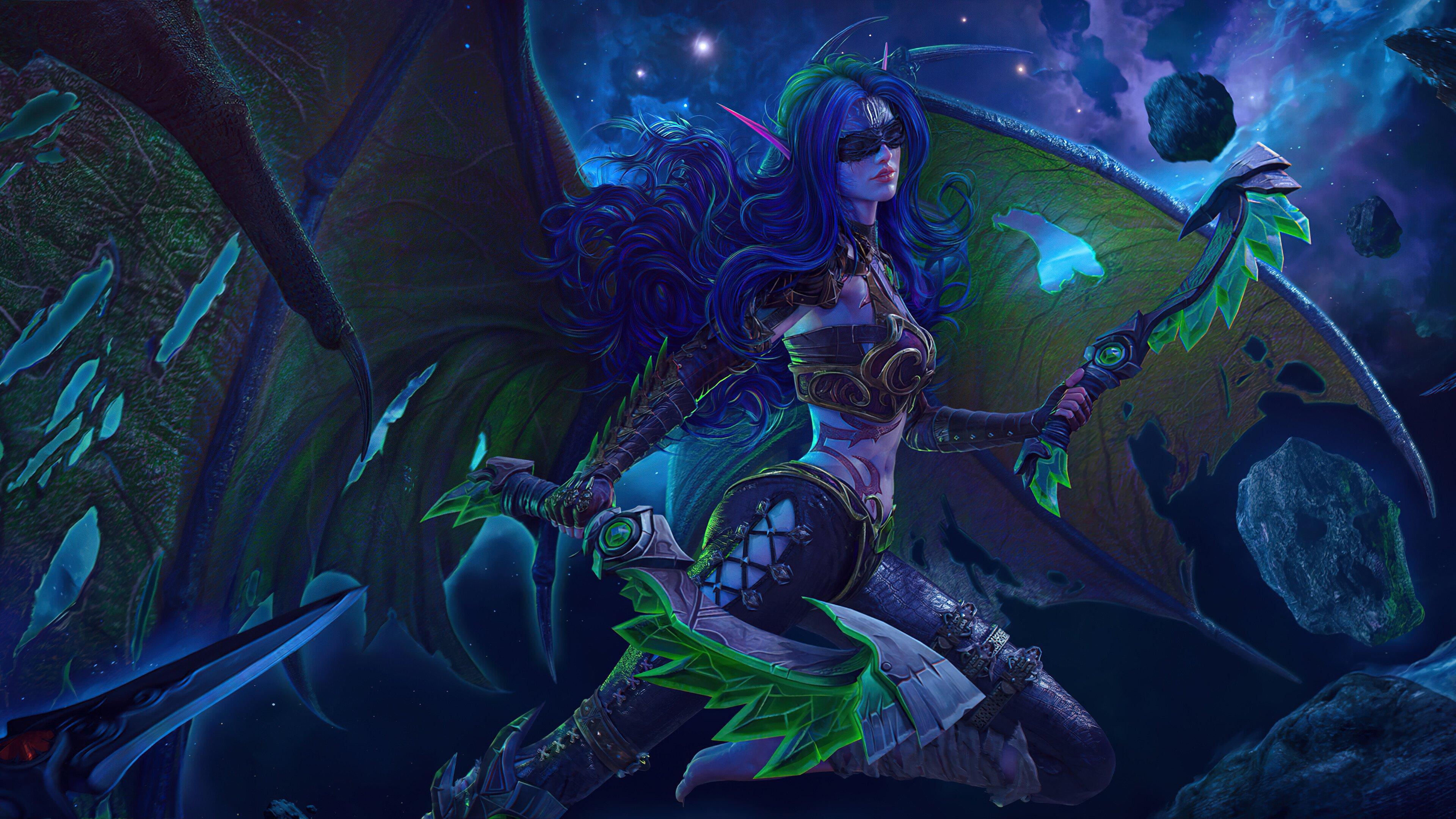 Fondos de pantalla World of Warcraft Demon Hunter