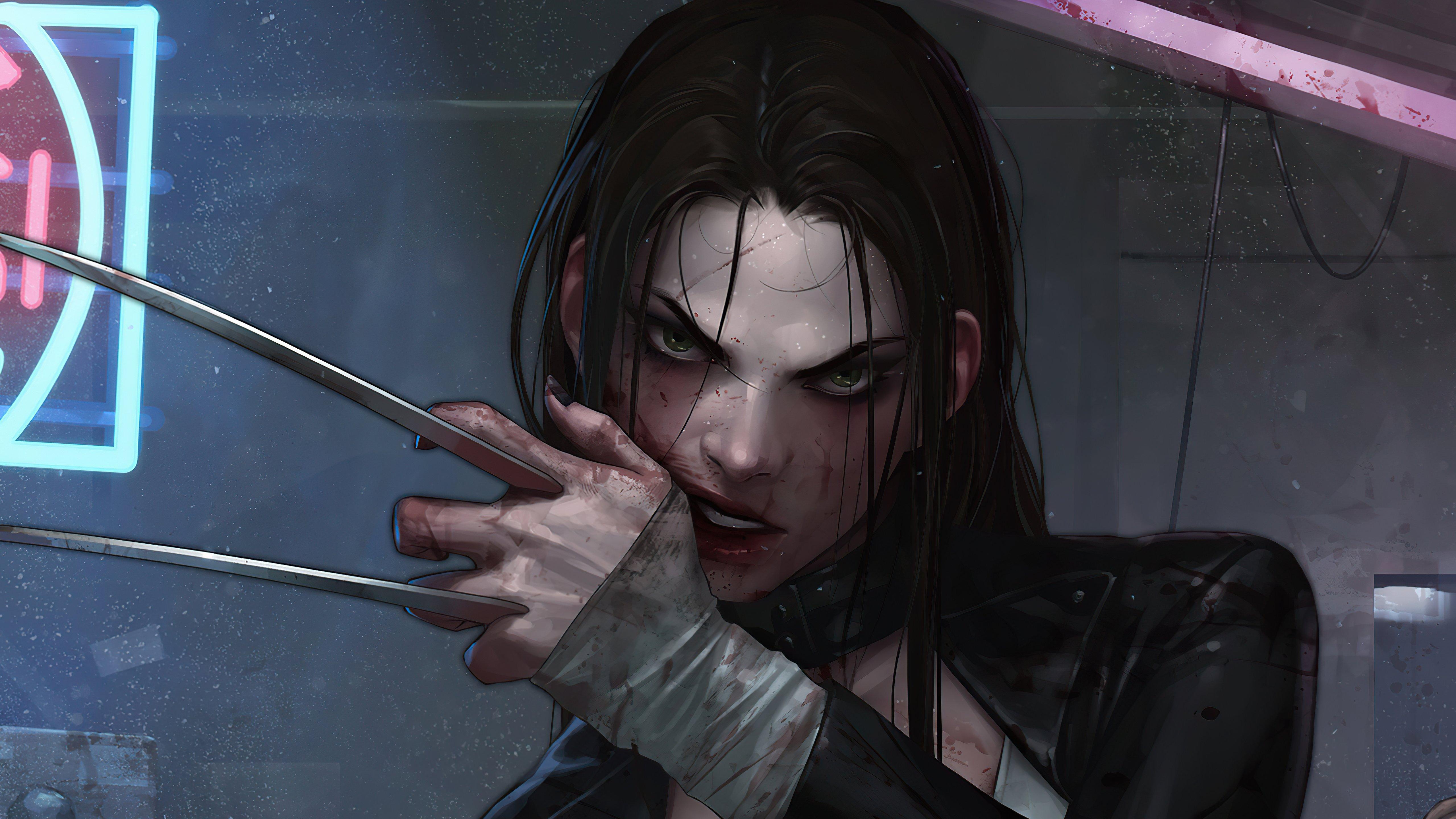 Wallpaper X23 Wolverine con garras