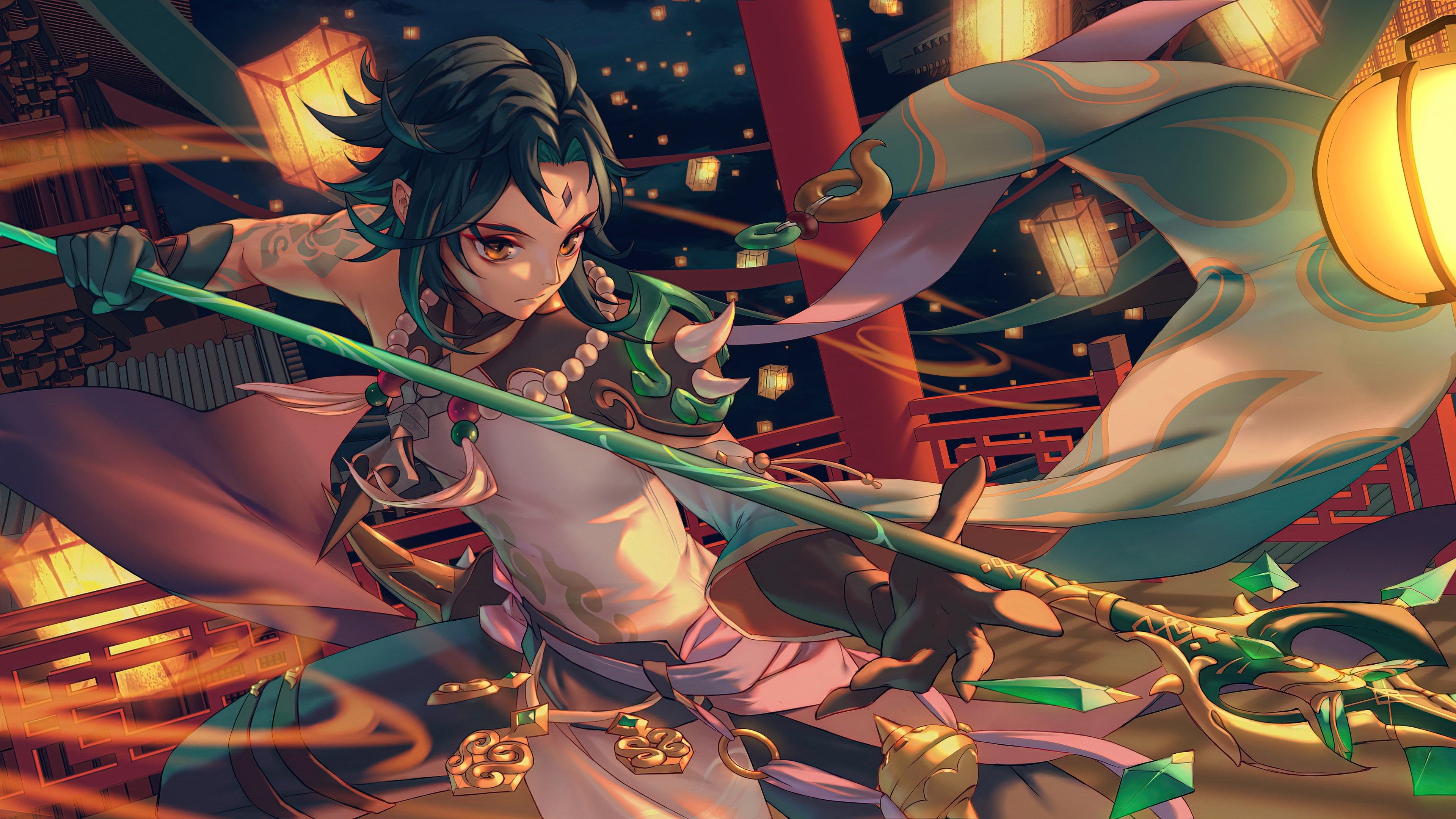 Fondos de pantalla Xiao de Genshin Impact