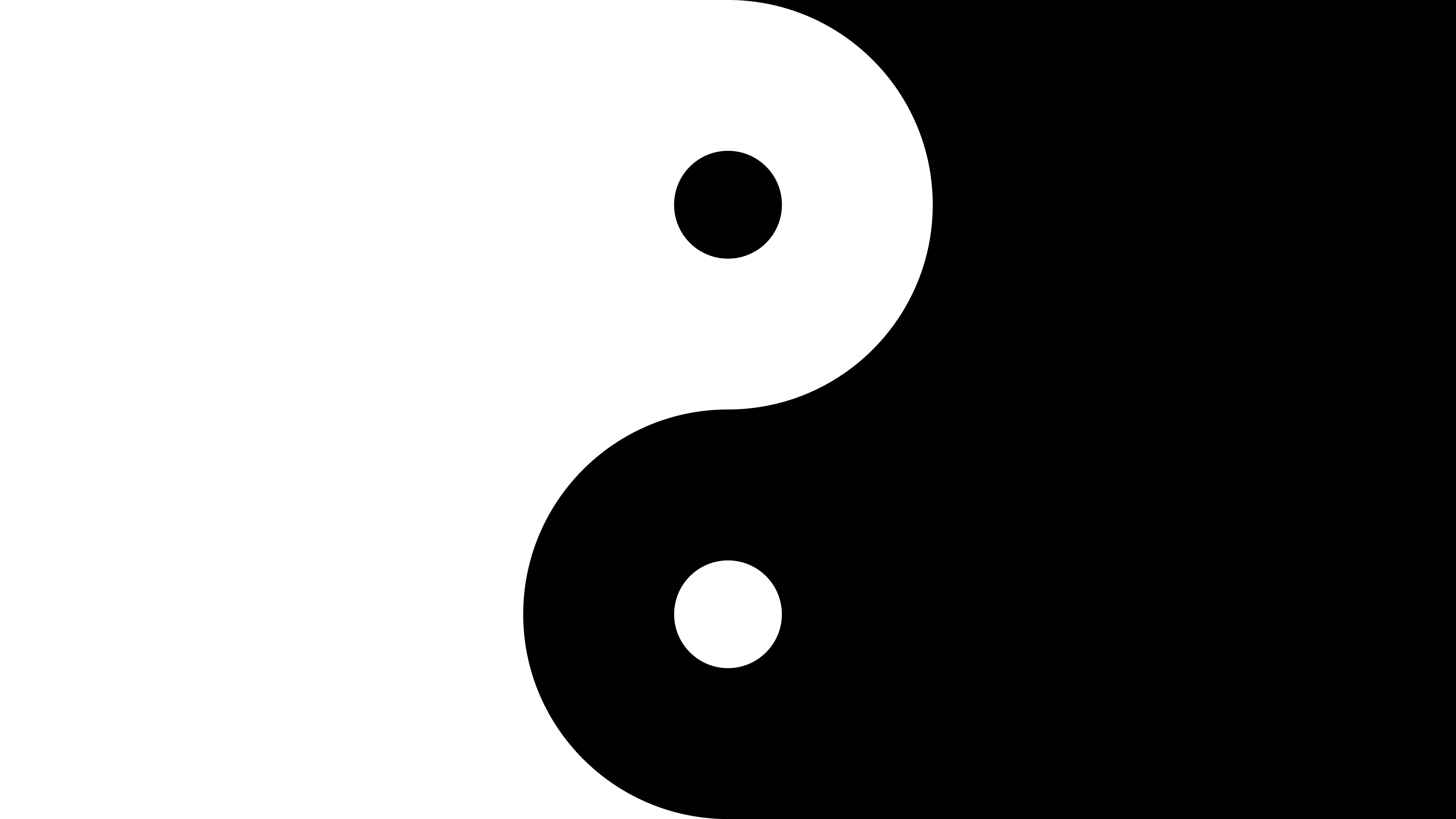 Wallpaper Yin and yang