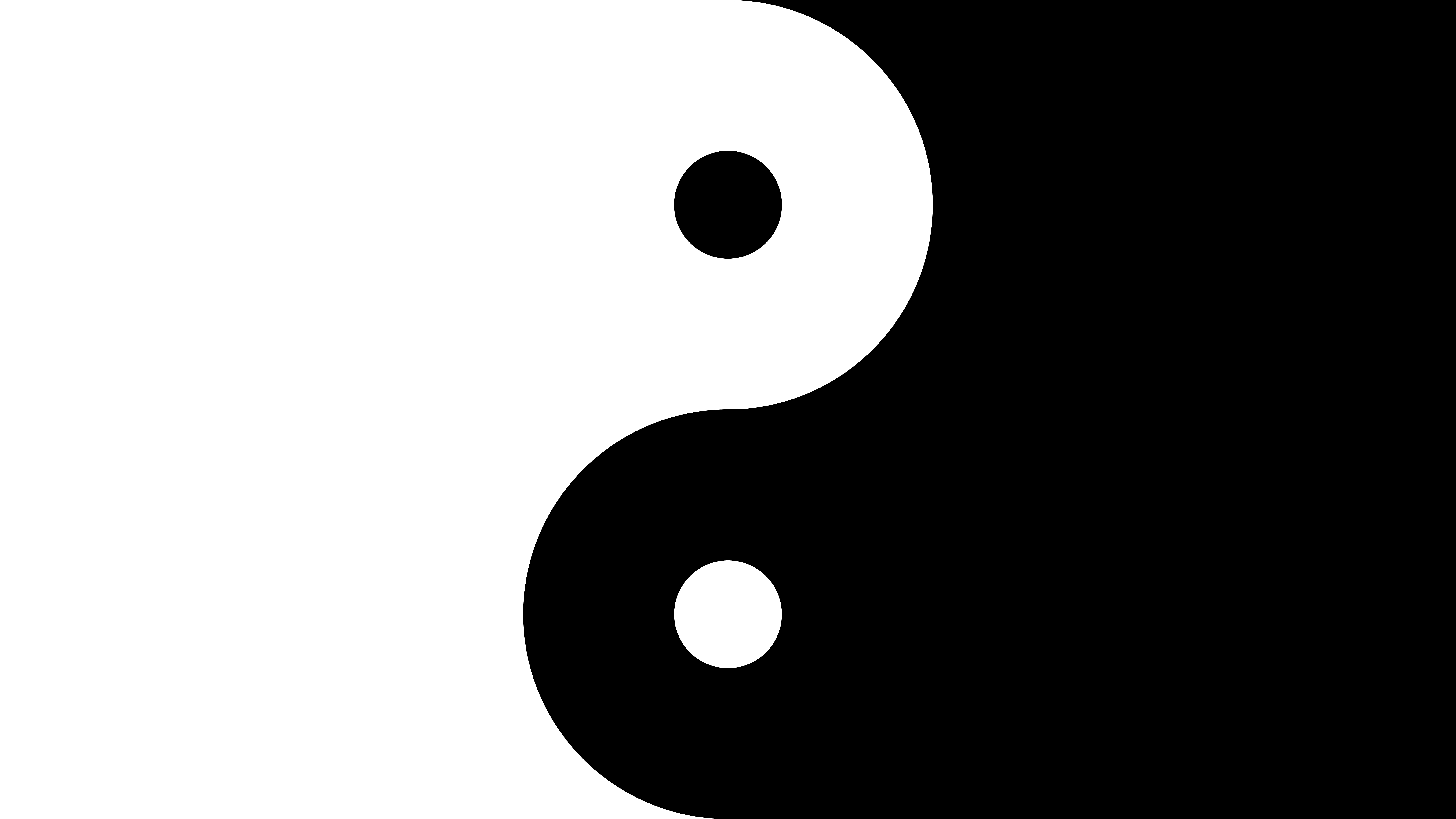 Fondos de pantalla Yin y yang
