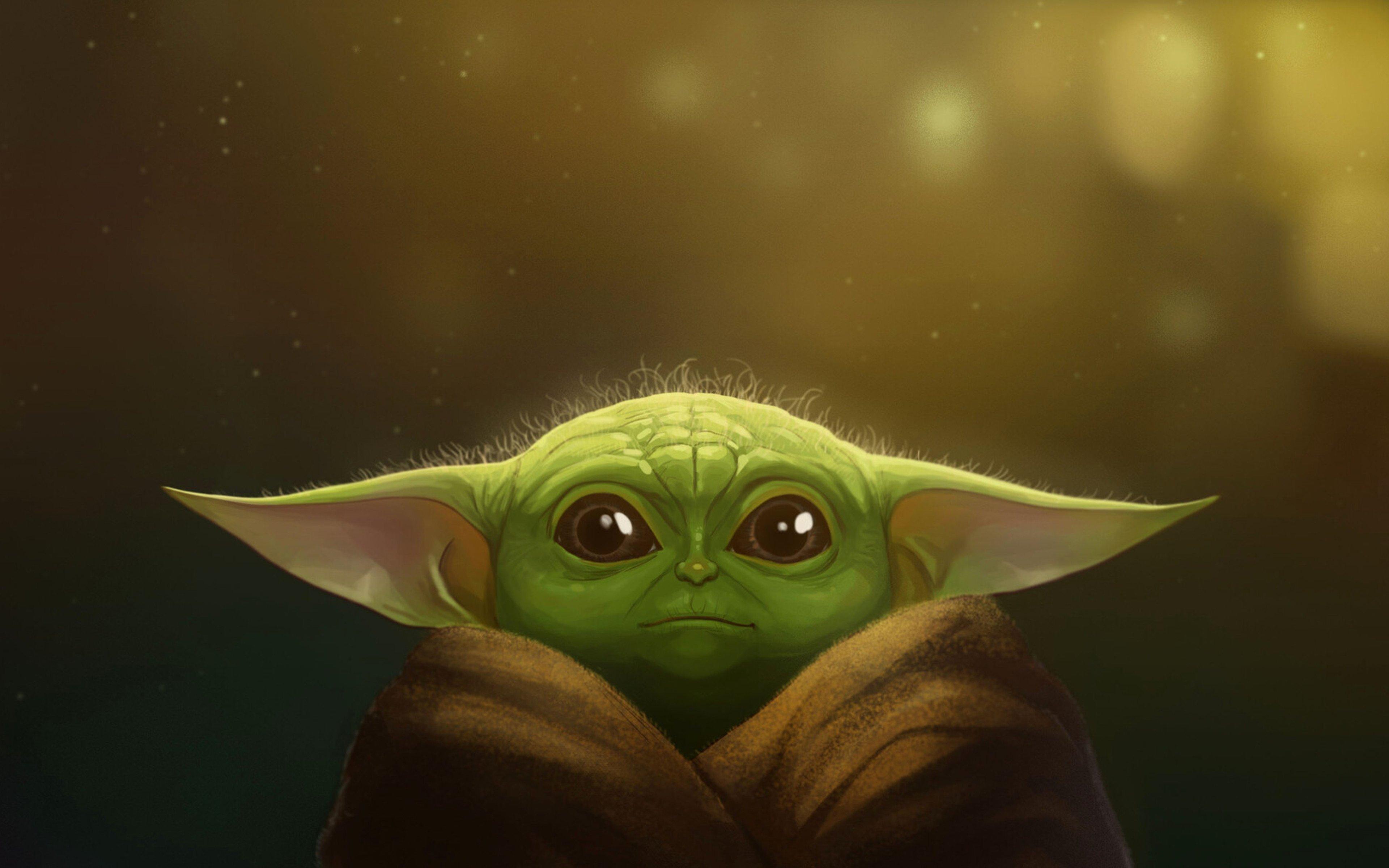Fondos de pantalla Yoda bebé Fanart