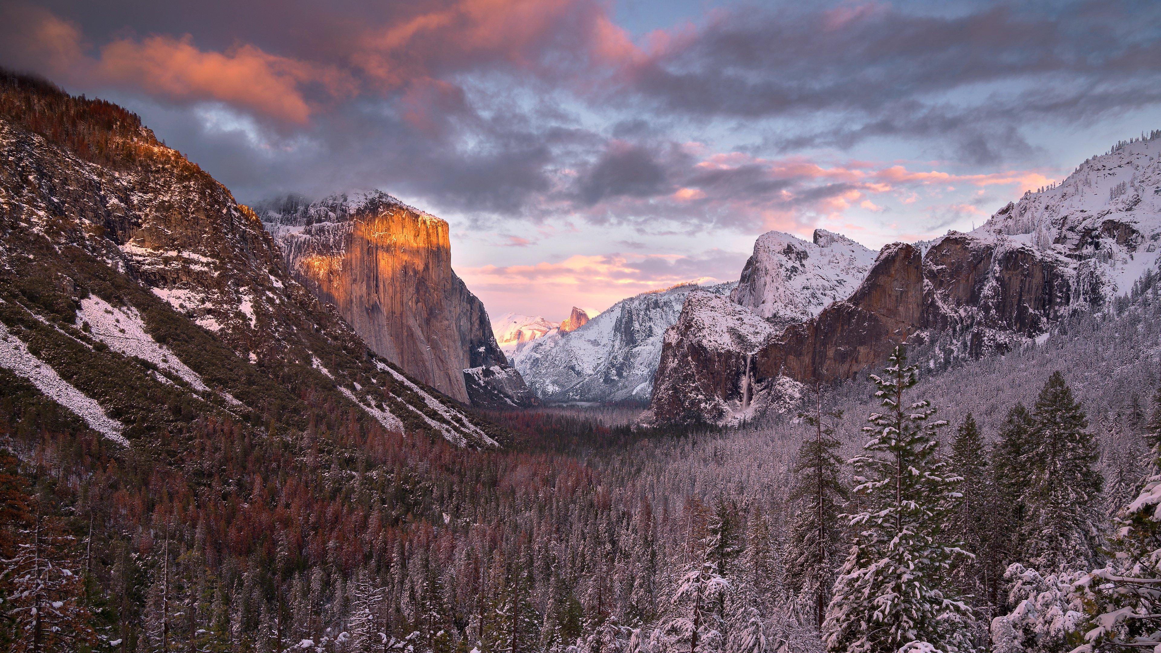 Fondos de pantalla Yosemite al atardecer