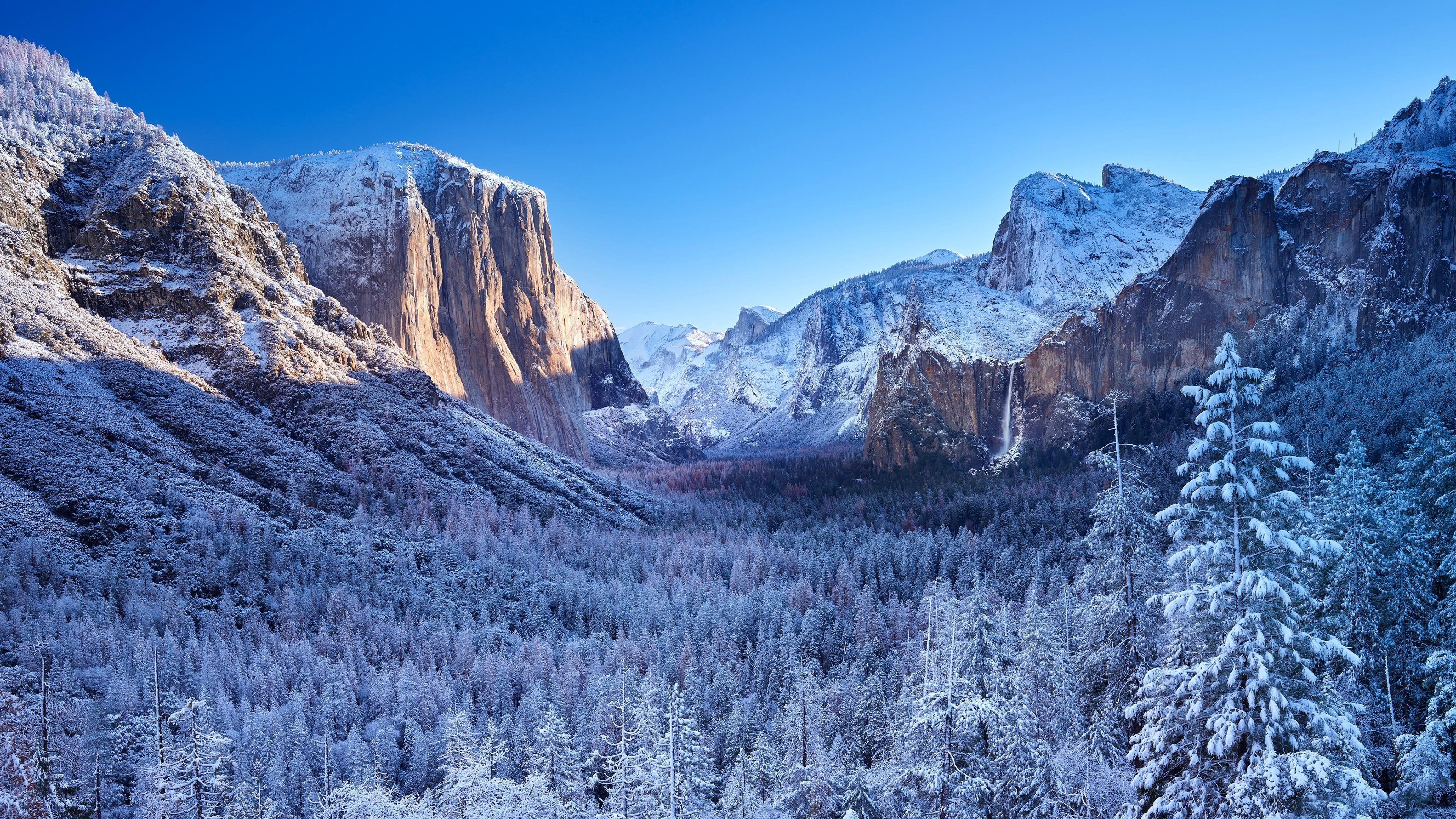 Fondos de pantalla Yosemite durante el invierno