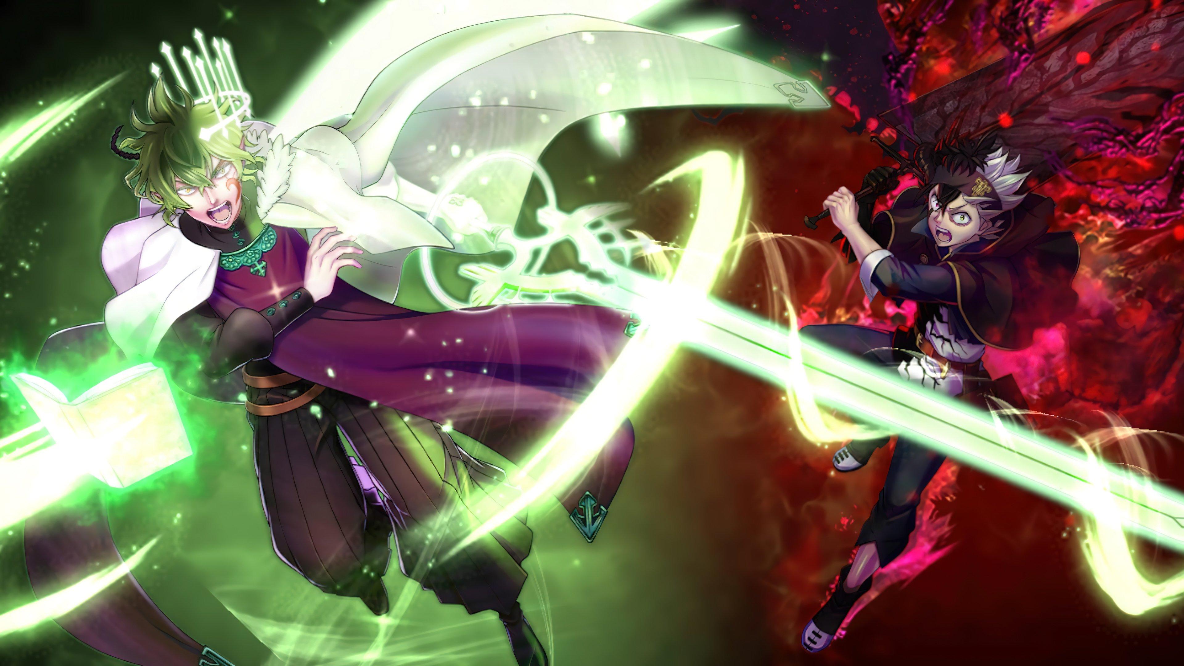 Fondos de pantalla Anime Yuno Asta Black Clover