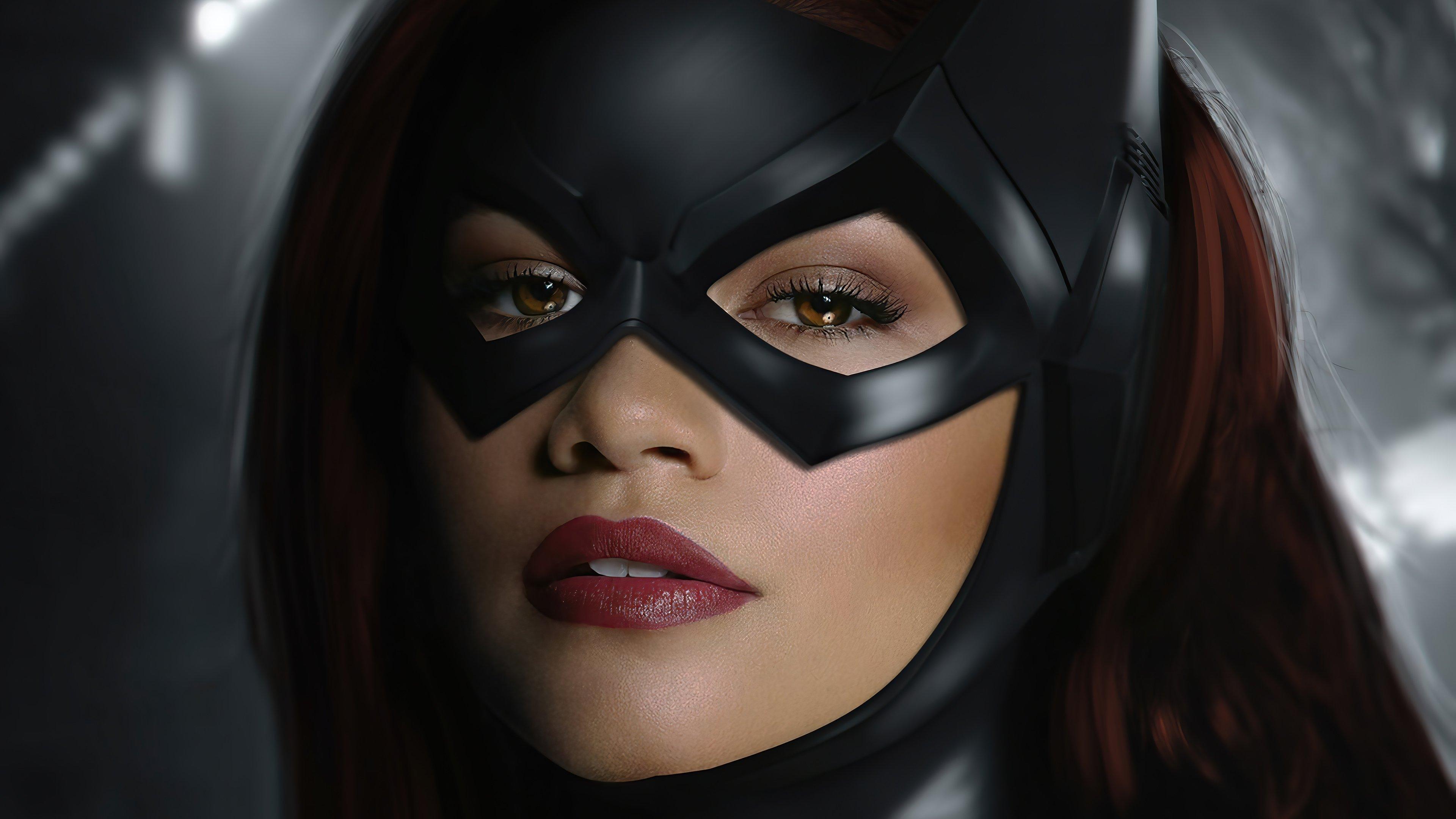 Wallpaper Zendaya as Batgirl