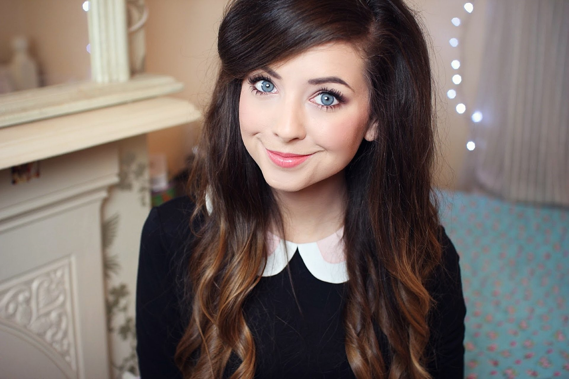 Wallpaper Zoella in a video