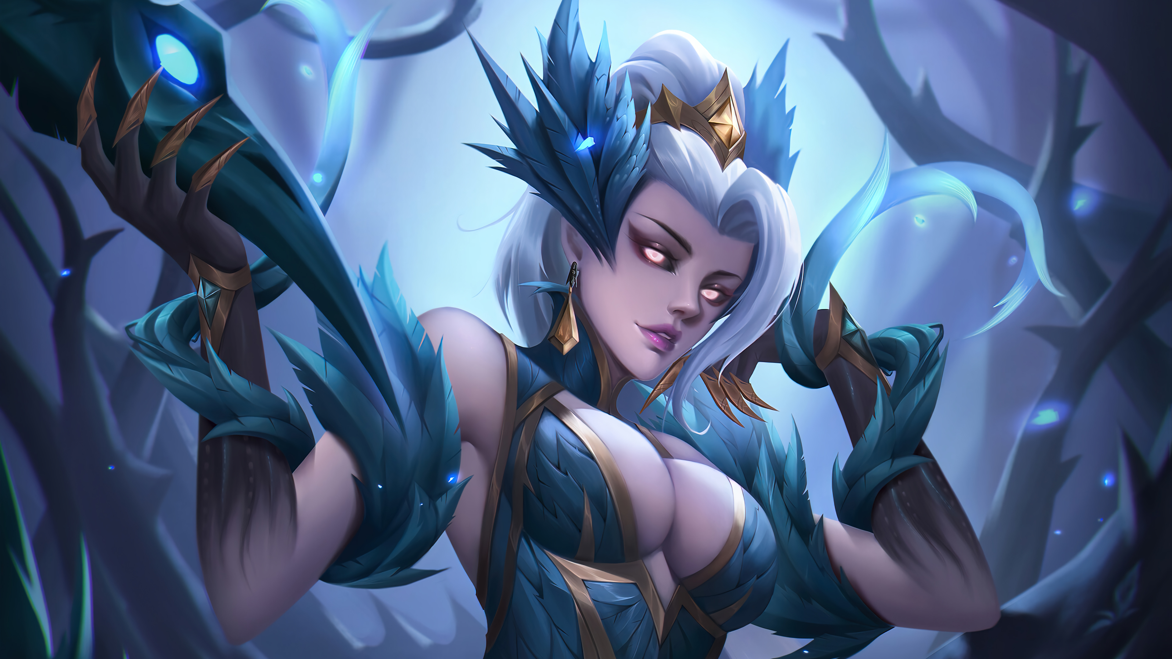 Fondos de pantalla Zyra Coven League of Legends Art