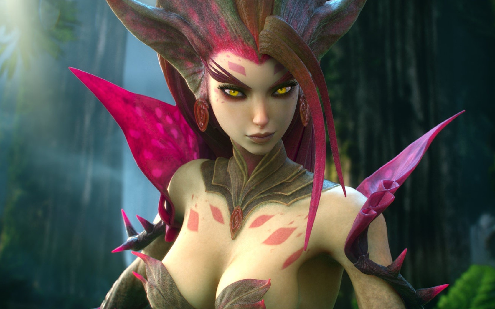 Wallpaper Zyra from League of Legends